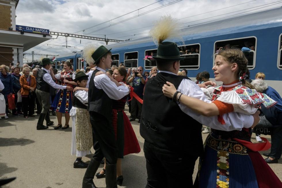 Csíksomlyói búcsú - A Csíksomlyó Expressz és a Székely Gyors Kolozsváron
