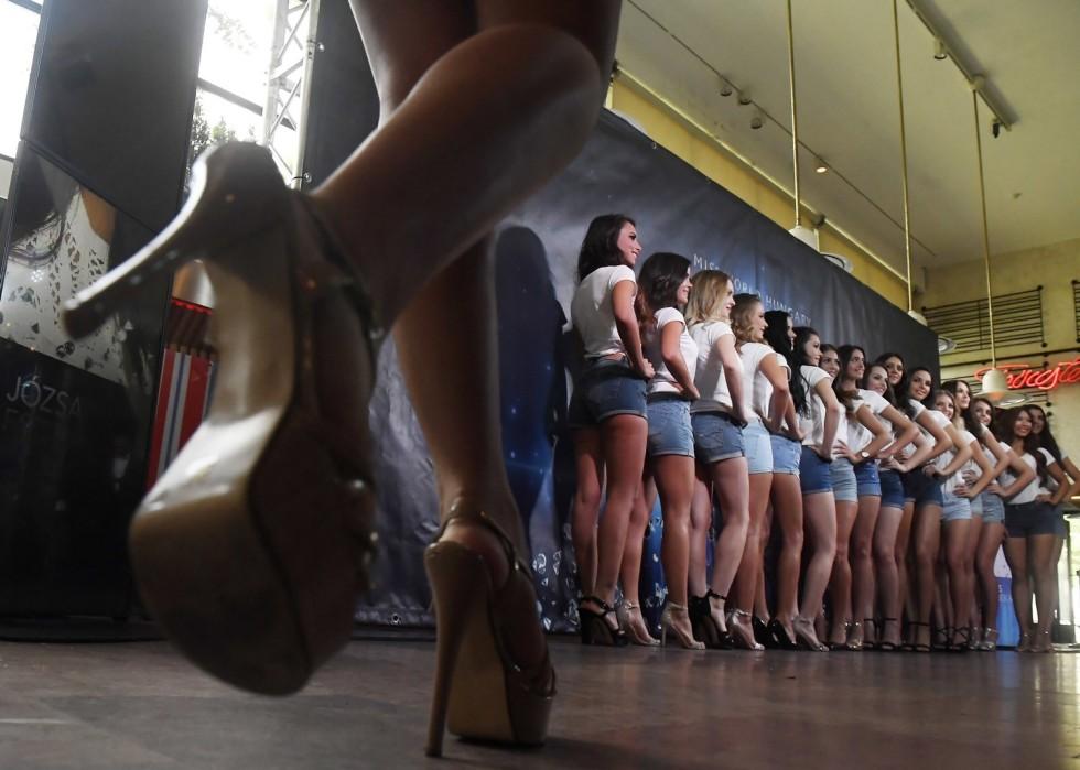 A Magyarország Szépe szépségverseny sajtótájékoztatója