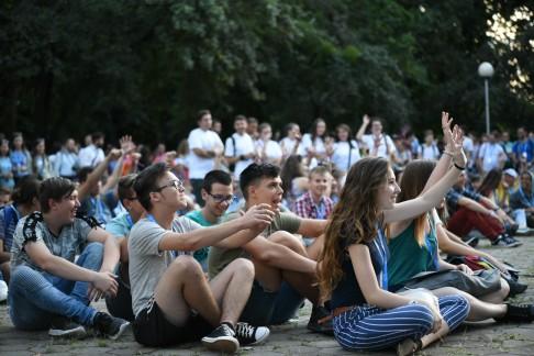 Megkezdődött az Országos Katolikus Ifjúsági Találkozó Szatmárnémetiben (11)