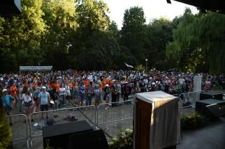 Megkezdődött az Országos Katolikus Ifjúsági Találkozó Szatmárnémetiben (28)