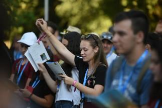 Megkezdődött az Országos Katolikus Ifjúsági Találkozó Szatmárnémetiben (30)