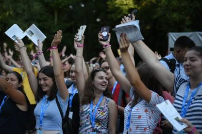 Megkezdődött az Országos Katolikus Ifjúsági Találkozó Szatmárnémetiben (33)