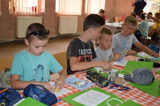 Táboroztak a gyermekek Nagykárolyban az egyházmegye református gyerekei (4)