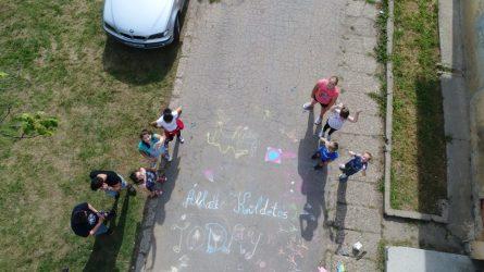 Táboroztak a gyermekek Nagykárolyban az egyházmegye református gyerekei (40)