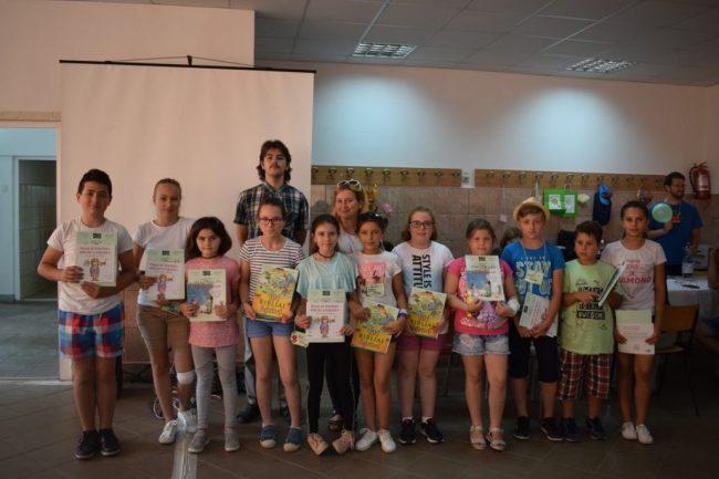 Táboroztak a gyermekek Nagykárolyban az egyházmegye református gyerekei (50)