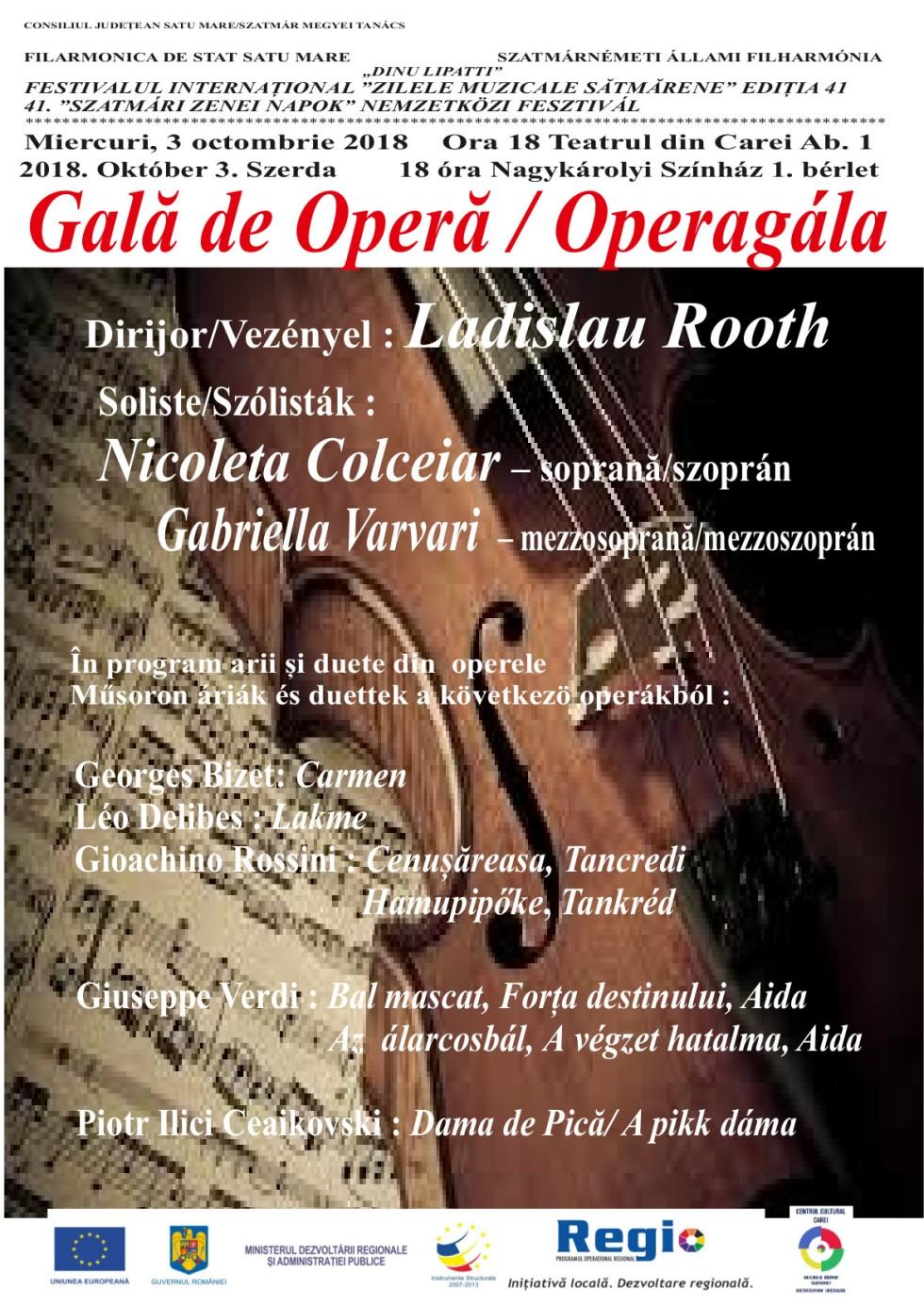 Rövidesen újra az operairodalom nagyjait szólaltatják meg szakavatott módon Nagykárolyban. A városi színházban a 98 esztendős Rooth László vezetésével a szatmárnémeti filharmónia zenekara ad koncertet.