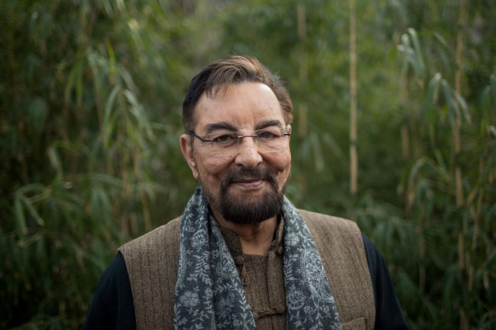 Kabir Bedi indiai színész Budapesten